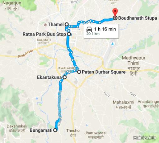 tribhuvan-airport-bungamati